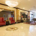 Lobby of adria hotel