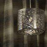 decorative lighting fixture in room
