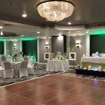 Banquet room seat up with dance floor