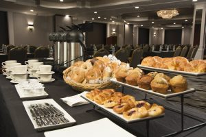 Adria Coffee and Bagels Table
